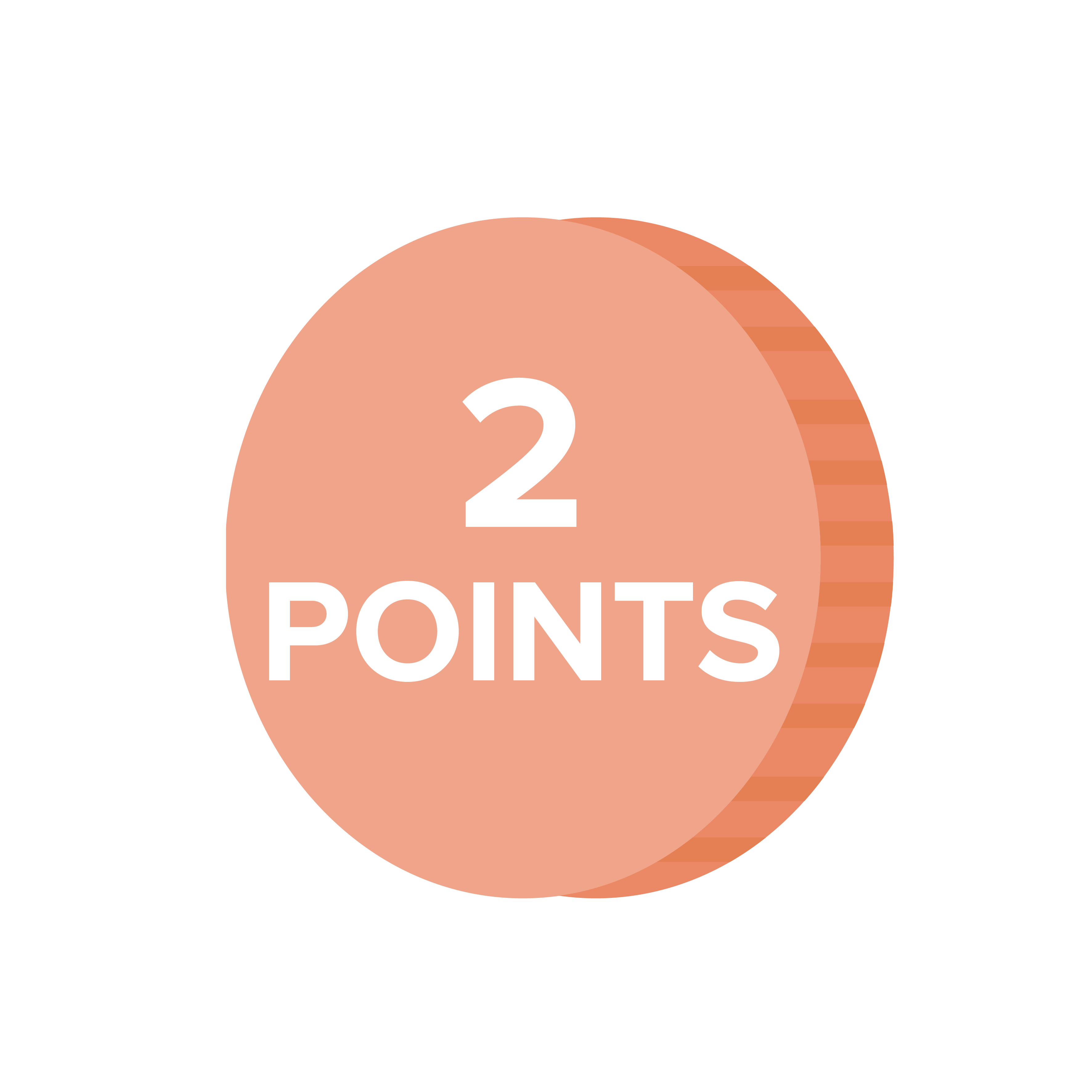 INTRO Rewards 2 Points Coin