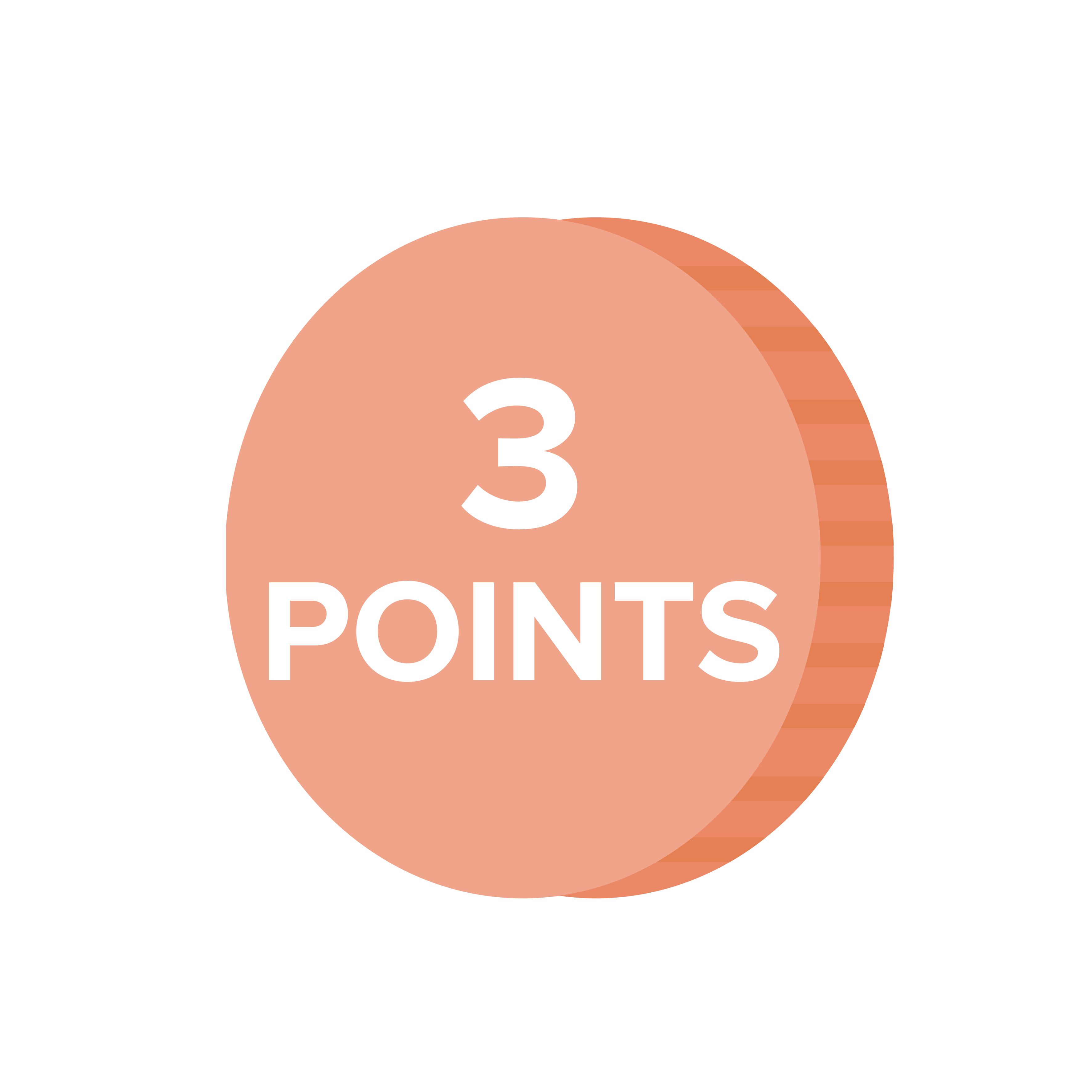 INTRO Rewards 3 Points Coin