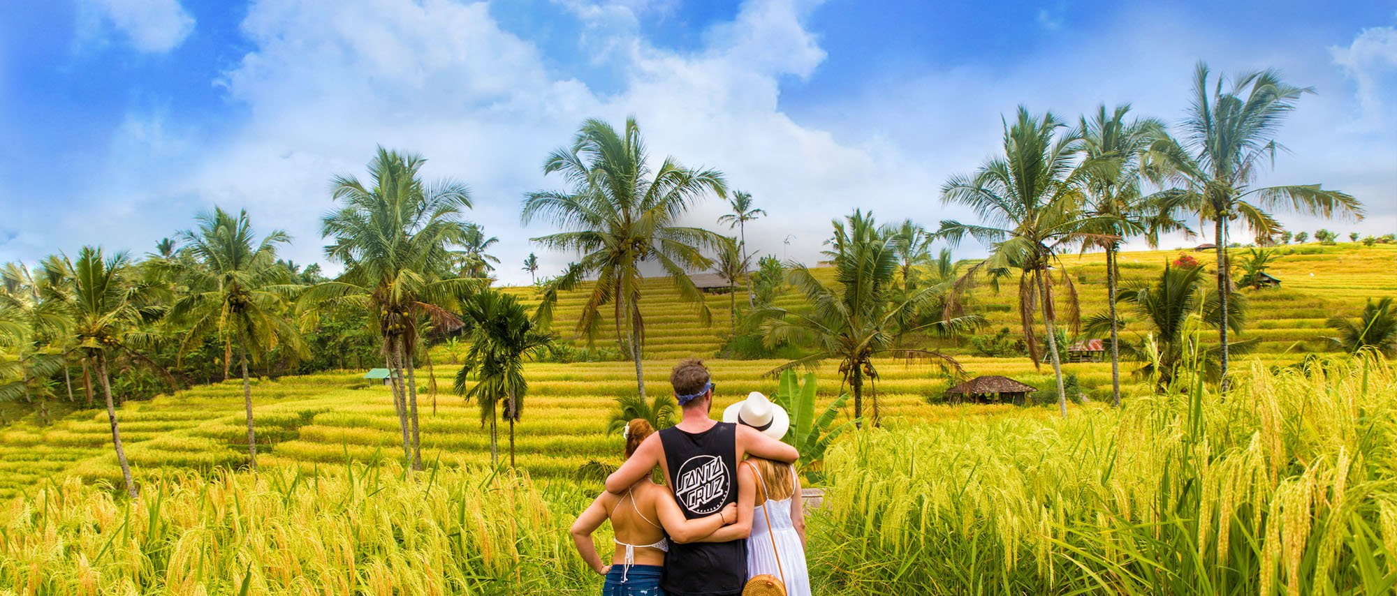 Intro Travel Bali Intro Group Tours Adventure In Rice Paddies