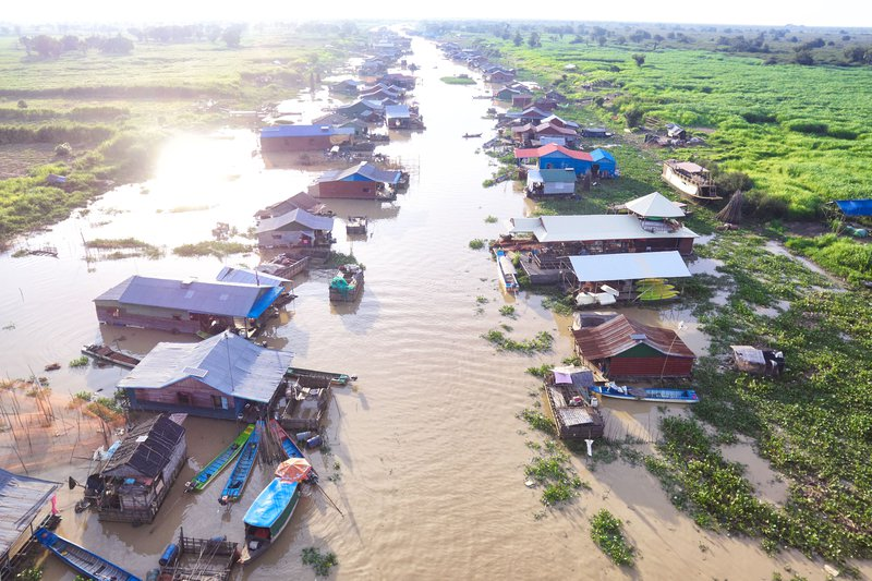 Siem Reap Floating Villages Cambodia