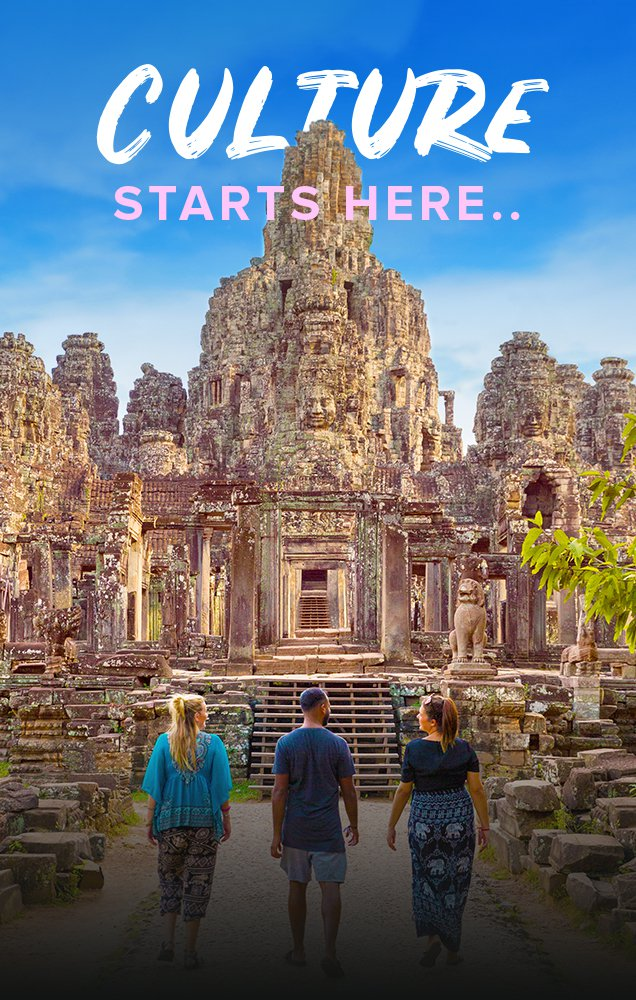 Intro Travel Culture Starts Here Cambodia Intro Group Tour Angkor Wat