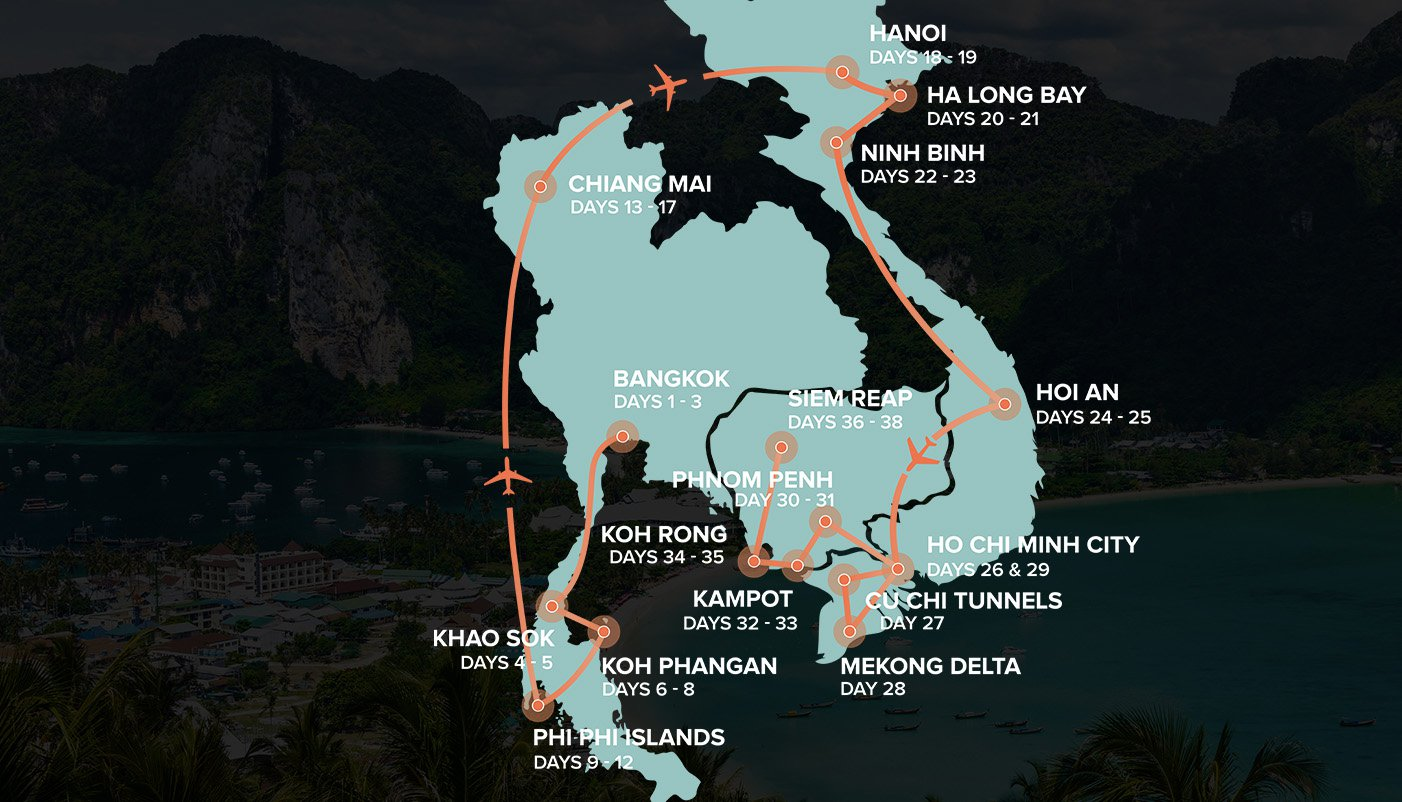 Epic Asia Itinerary Mao
