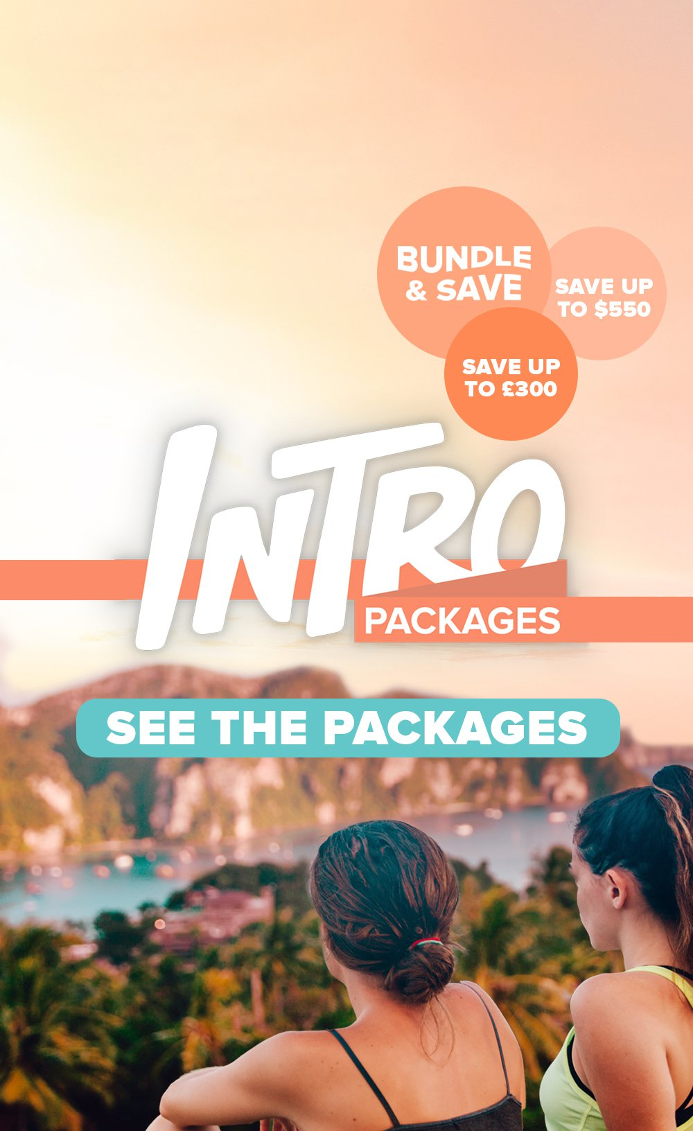 INTRO Packages Homepage Mobile