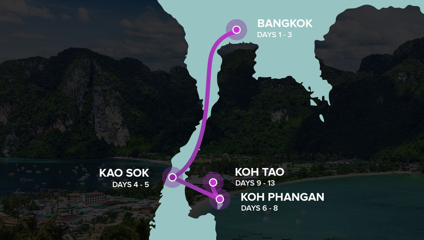 Map Thai + Dive