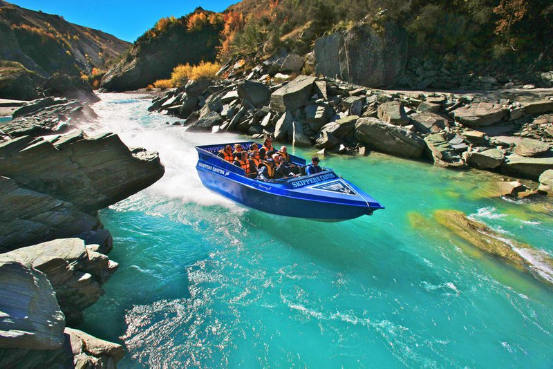 Jet Boating New Zealand South