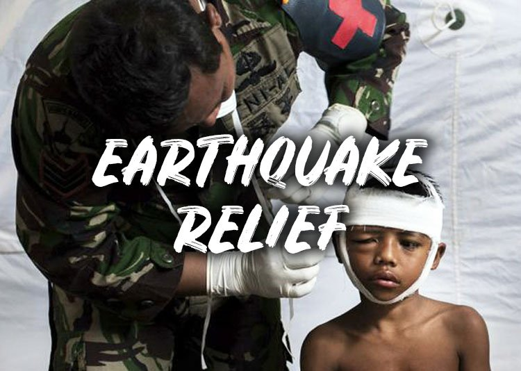 Small CHange Earthquake Relief