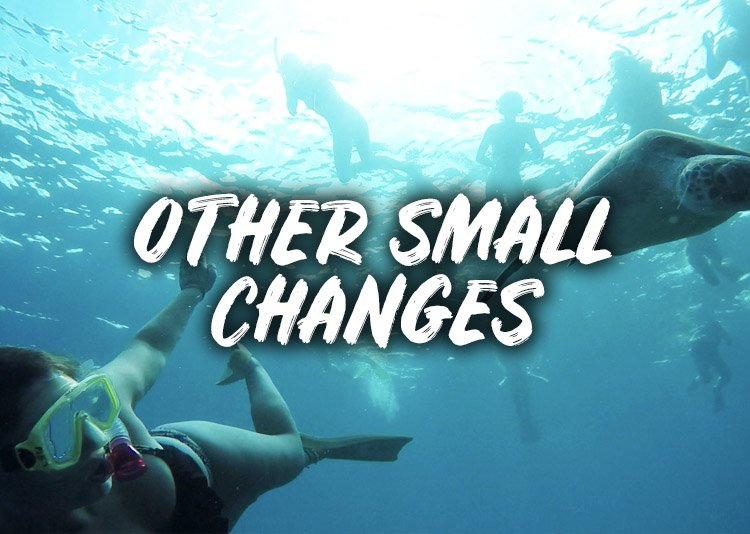 Small Changes Other