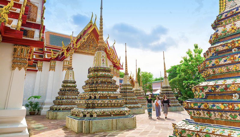 Thai Intro 18 Day Wat Pho Temple Bangkok