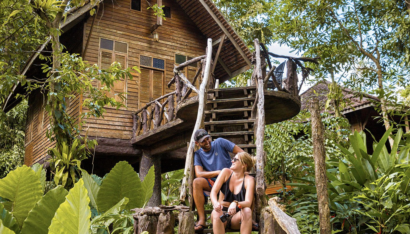 Khao Sok Jungle Treehouses