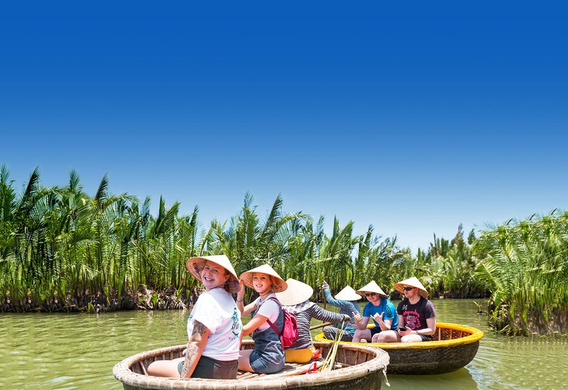 Intro Travel Vietnam And Cambodia Intro Group Tours Group in Hoi An