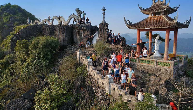 Intro Travel Vietnam And Cambodia Intro Group Tours Ninh Binh Viewpoint