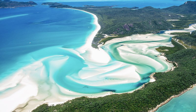 Whitsunday islands whitehaven beach