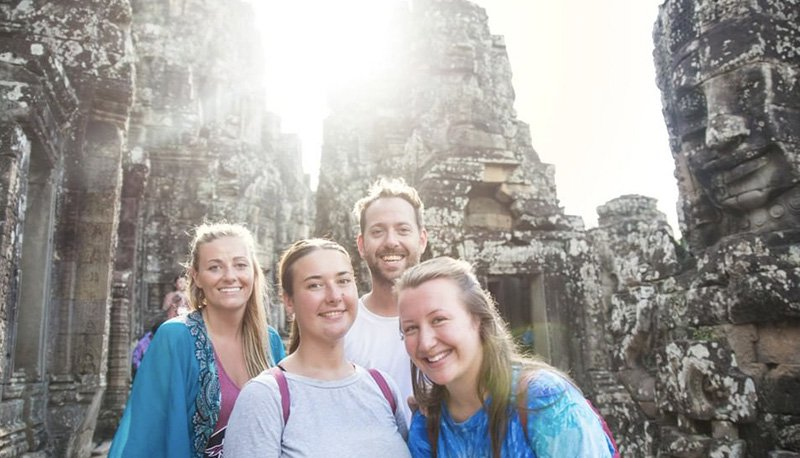Intro Travel Vietnam And Cambodia Intro Group Tours Angkor Wat
