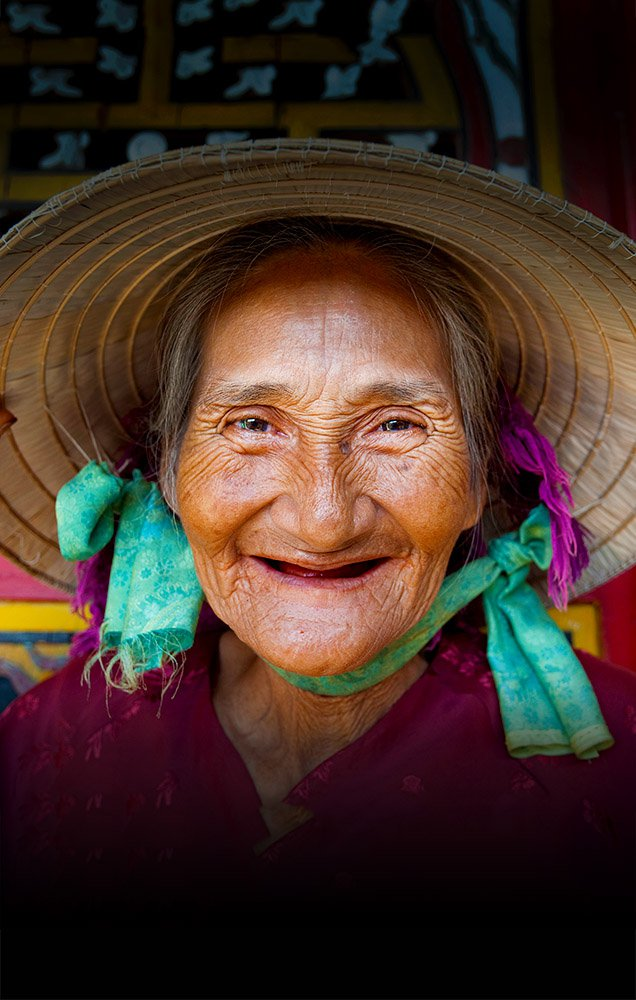 Meet the Locals Tile Old Lady Vietnam